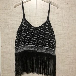H&M's Tank Top with Fringe